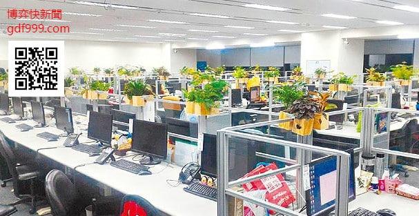 博弈業(娛樂城)的辦公室與正常公司差不多且環境還更加舒適!